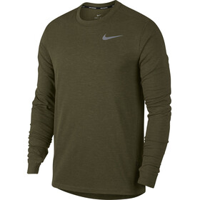 Nike Therma Sphere Element - T-shirt manches longues running Homme - olive